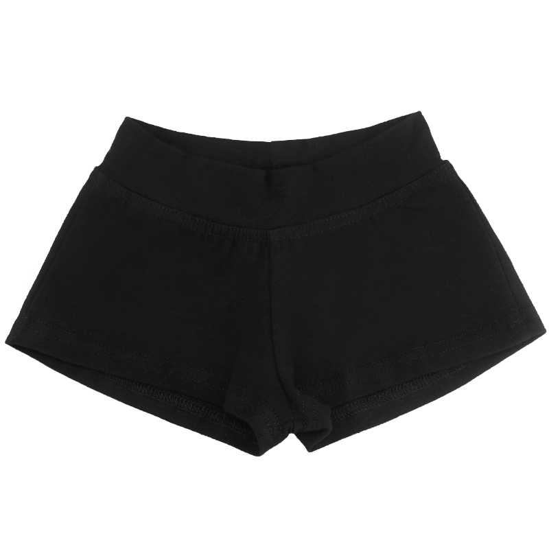 1c60467f4 ... Girls Dance Shorts Fitness Yoga Short Pants Dance Wear Sports Shorts  Kids Dance Clothes Black Cotton