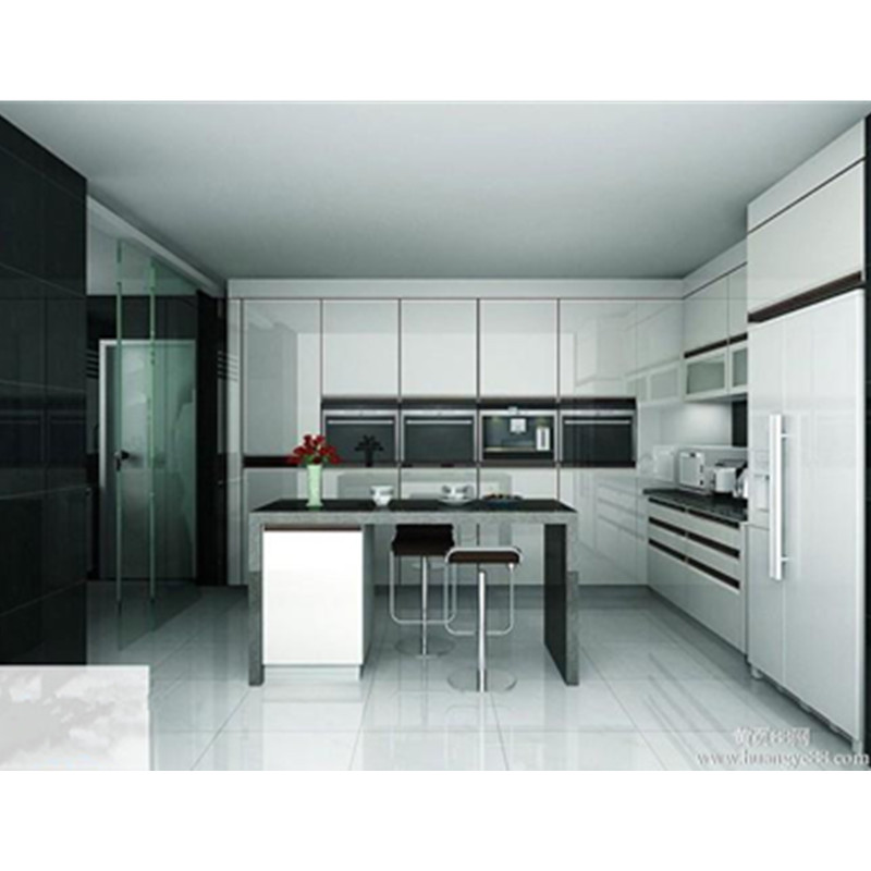 High Gloss White Kitchen Cabinet Door: High Gloss White Kitchen Cabinet Door-in Kitchen Cabinets