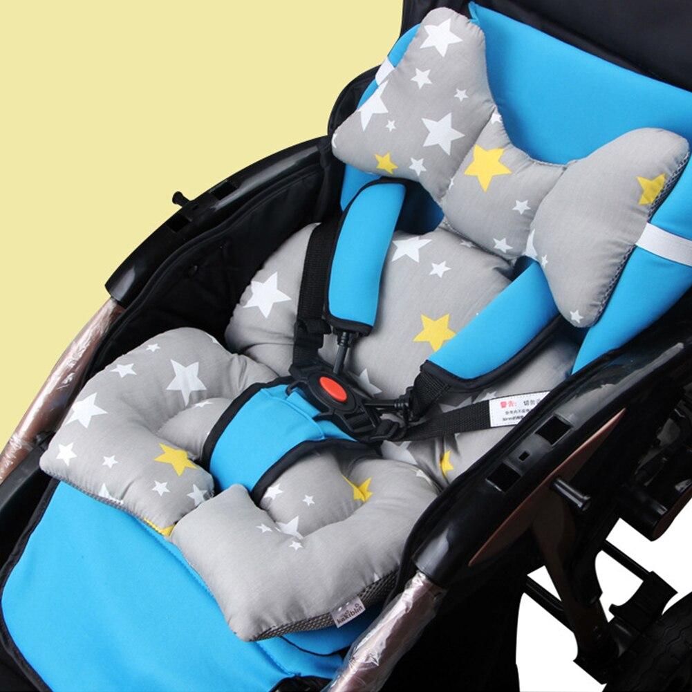 Stoel Cartoon Dier Dikke Pad Baby Katoen Matras Auto Wandelwagen Zitkussen Warm Kussensloop