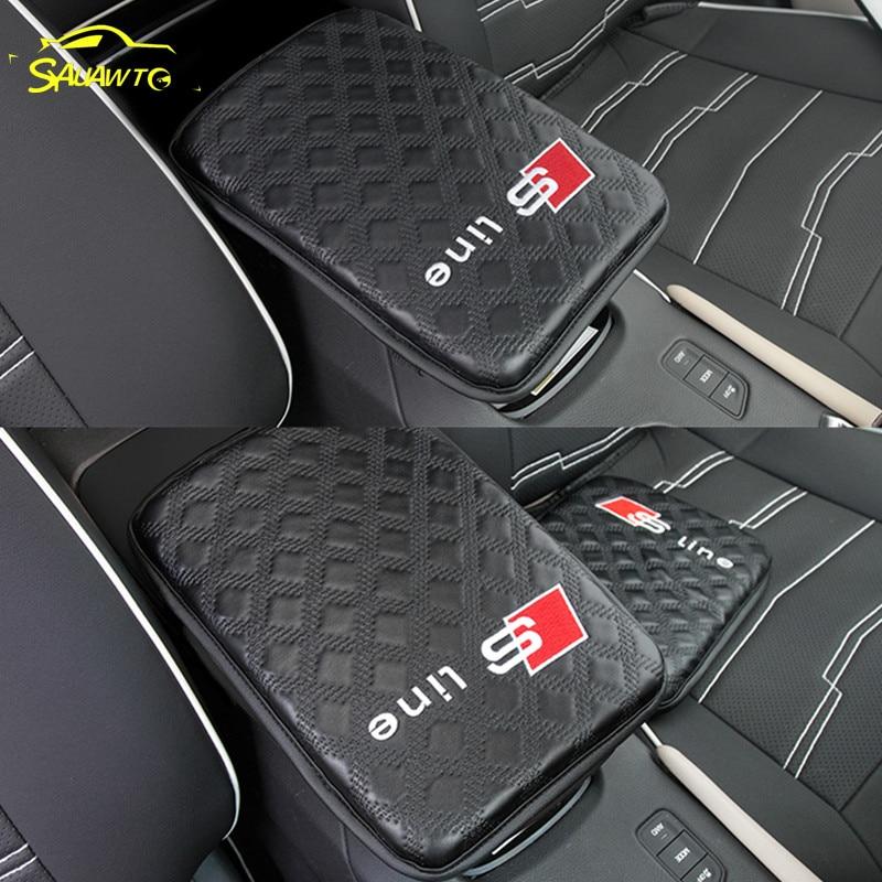 1 pz Auto Braccioli Pad Coperture Logo Per Audi A3 A4 B6 B8 A6 C6 80 B5 B7 A5 A7 q5 Q7 TT 8 p 100 8L C7 8 v A1 S3 Q3 A8 B9 V8 200 8L 8 v