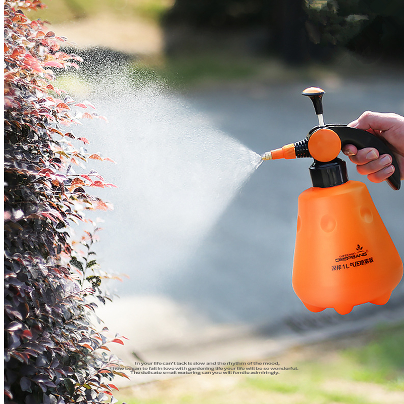VICTMAX 1L Orange Sprayer Water Bottle Automatic Sprayer Spray Pot Watering Pot Sprinkling Can Watering Can Garden Tools