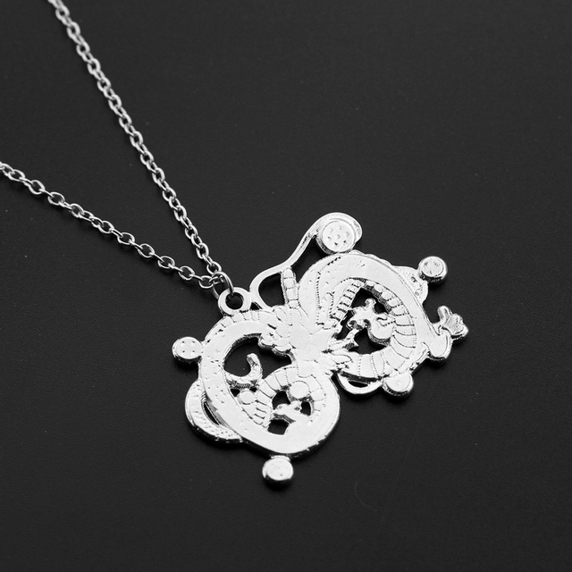 Dragon & Dragon Ball Necklace