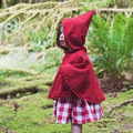 2016 Winter Autumn Fashion Shawl Kids Baby Cape Pattern Red Cotton Hooded Girls Coat Jackets Baby Girl Cape Cloaks Clothes DP3
