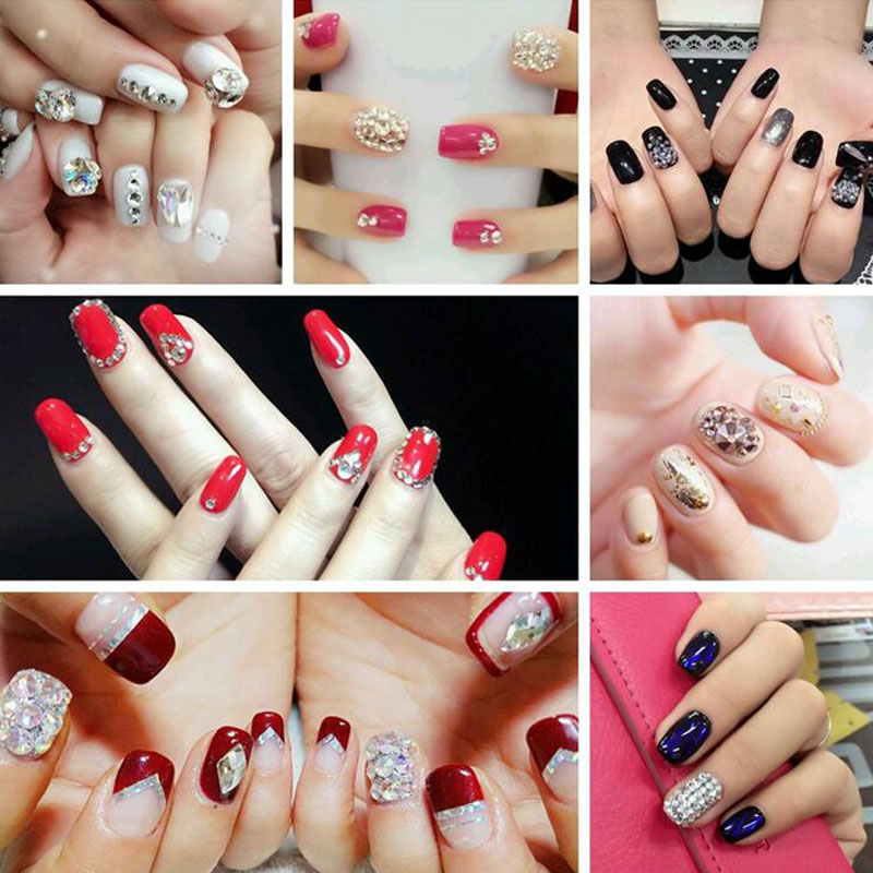 Aliexpress.com   Buy SS3 SS34 rainbow rose gold Rhinestones Back Flat Round  Nail Art Decorations And Stones Non Hotfix Rhinestones Crystals for DIY  from ... 1bab06186460