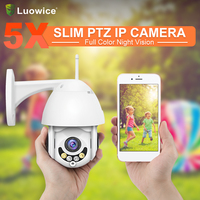 960p 1080p full HD IP wireless Camera 4mm auto and 5x optical Zoom Network IP Camera CCTV wifi with speaker outdoor camera
