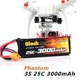 BlackMagic 3000 мАч 11.1 В Батарея Для DJI PHANTOM CX-20 Кванум Нова