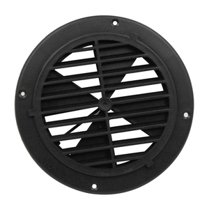 Image 2 - 1 Pcs 6.5 Inch Round Louvered Vent For RV Motorhome Boat Ventilation Parts UV Protection 0.7 Inch Thickness PP Plastic