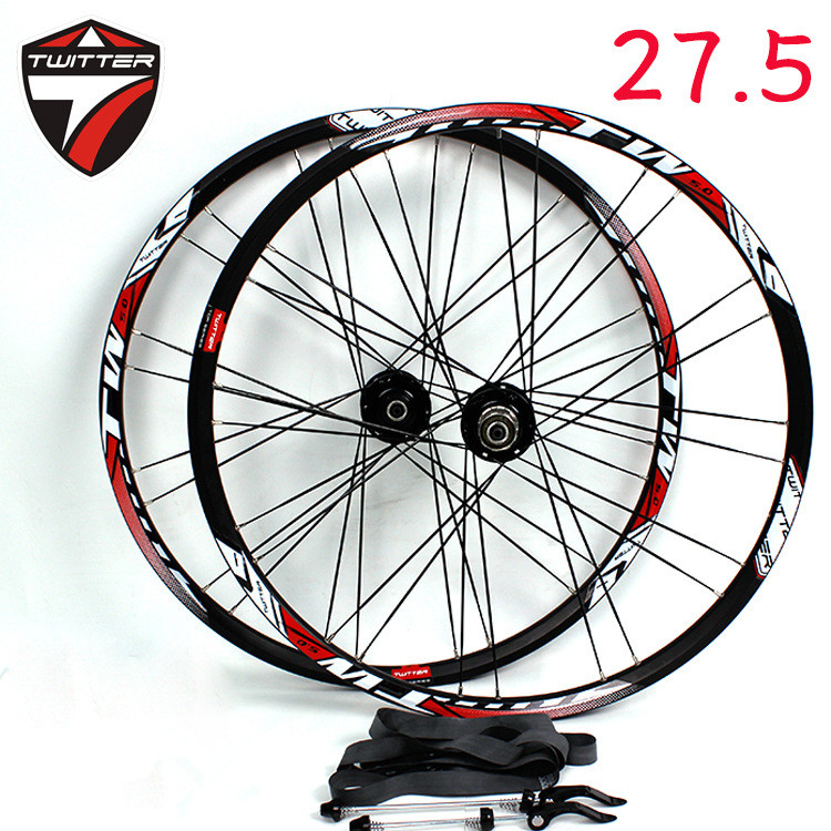 TW27.5inch MTB mountain bike sealed bearing 32hole perlin wheelset Aluminum alloy wheels cool price 2015 rt a3 carbon wrapped hub 26 inch light weight aluminum alloy flat mtb mountain bike wheelset 5 sealed bearings