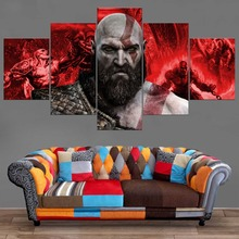 Kratos God of War canvas 5 pieces