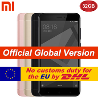 Global Version Original Xiaomi Redmi 4X 3GB 32GB Mobile Phone Redmi4X Pro smartphone Snapdragon 435 5.0