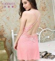 IDARMEE S6584 Mode Mesh Spitze Patchwork Kleid Frauen Unterwäsche Babydoll Dessous Sexy Top Verkauf Dessous Sexy Hot Erotic