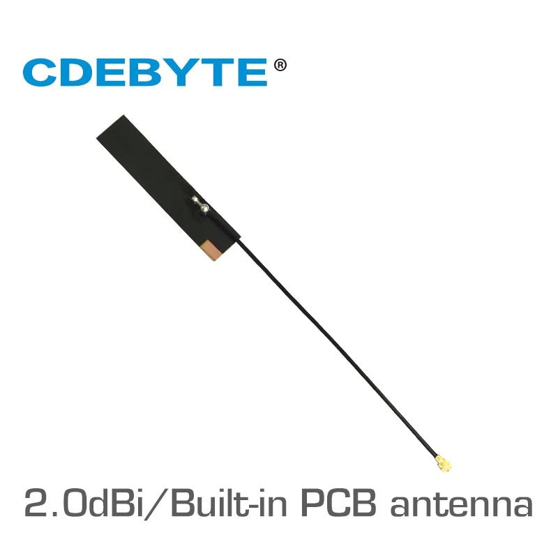 2pc/lot Wifi Antenna TX915-FPC-4510 915MHz 868MHz 2.0dBi Gain PCB  Omnidirectional Antena Tv Exterior Antenna
