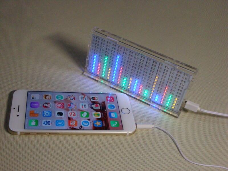 Музыкальный спектр дисплей ритм лампа Электронный DIY наборы DIY игрушка для Тренировки Мозга