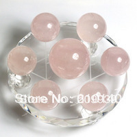 SCY Ship Genuine Natural Pink The Seven Crystal Array Ornaments Ball Seven Crystal Array Lucky Love