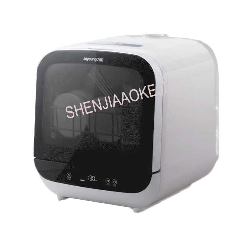 X6 Freely Place Dishwasher 5L Household Automatic Small Desktop Intelligent Dishwasher Dry Sterilization 220V 950W 1PC