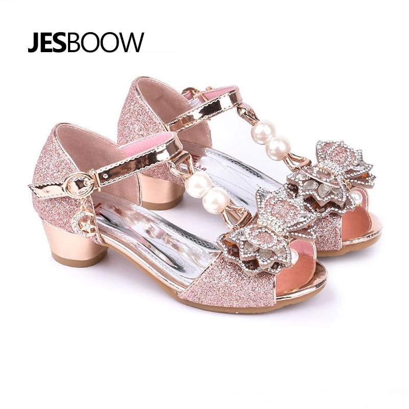 a06c401bdda40 Fille Sandales Chaussures de bouche de poisson Kid Princesse ...
