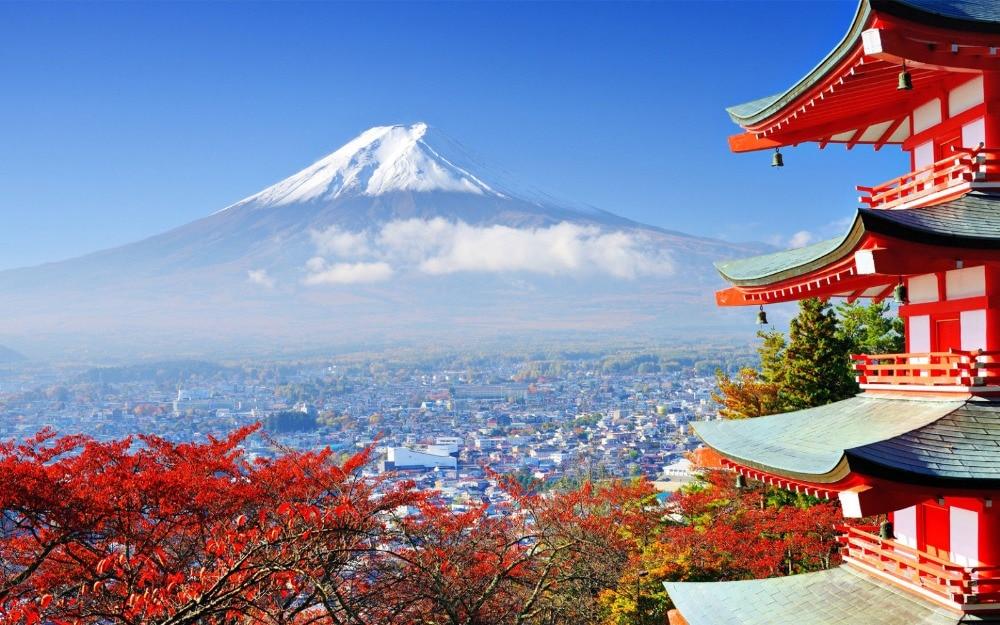 Mount Fuji Japan Japanese Mountain Landscape 12x8 Inch Print