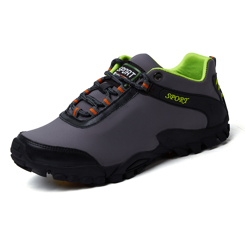 65d611b0c630 fashion Men Hiking Shoes Walking Large Size Mens Hiking Boots Trekking  Waterproof Shoes Hiking Men Leather Outdoor Men Shoes Mountain store