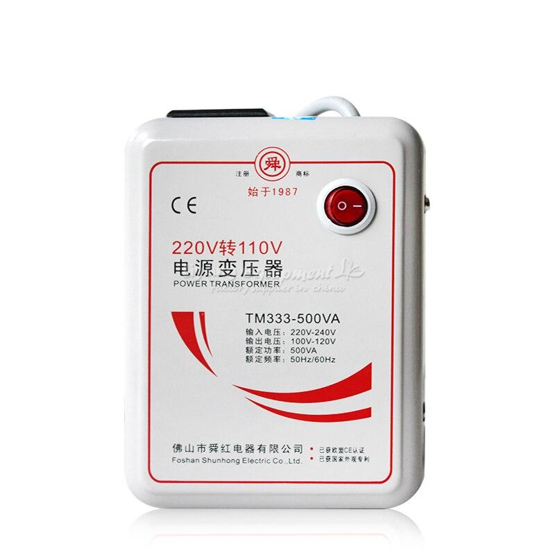 220V to 110V(110V to 220V) 500W power transformer voltage converter 1 pc 1500w 1 5kva step down voltage converter transformer 220v 240v to 110v 120v