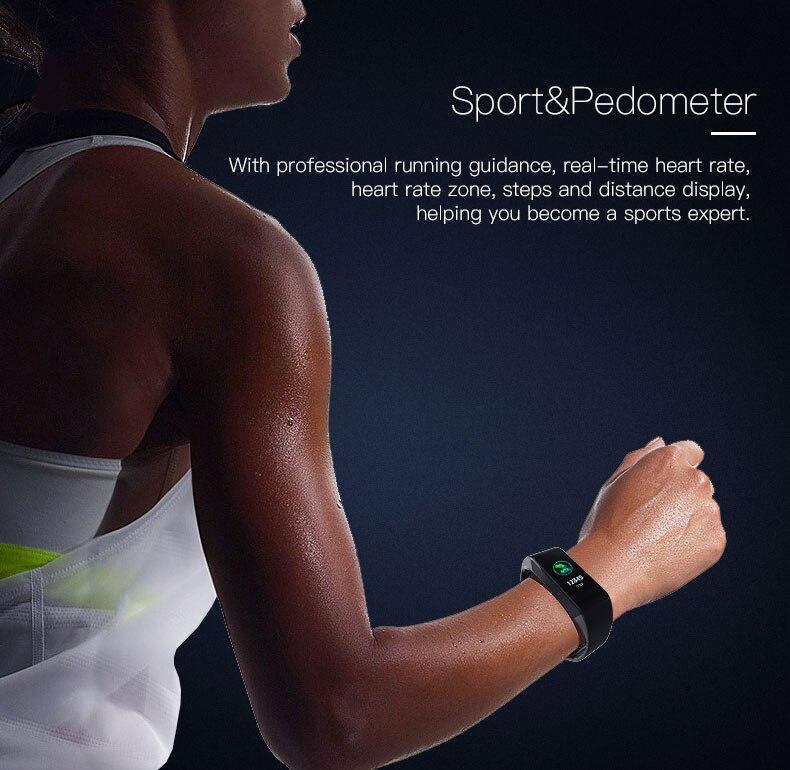 Smart bracelet blood pressure heartrate W6S (9)