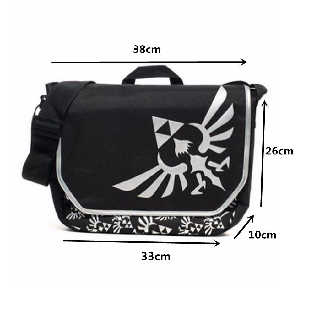 Nintendo The Legend of Zelda Triforce Messager Bag Laptop Shoulder ... caba13dc818c0