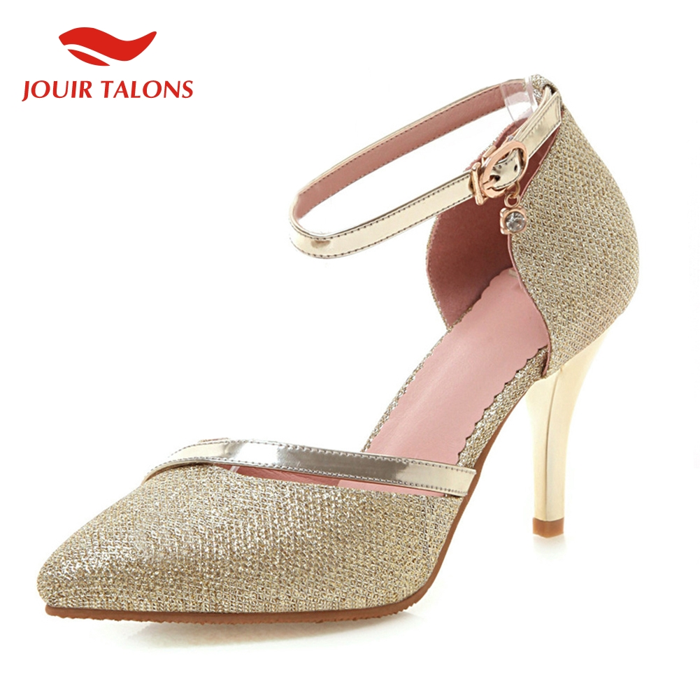elegant thin High Heels pointed toe pumps Women Shoes Woman Sliver Gold Date Wedding Party Pumpselegant thin High Heels pointed toe pumps Women Shoes Woman Sliver Gold Date Wedding Party Pumps