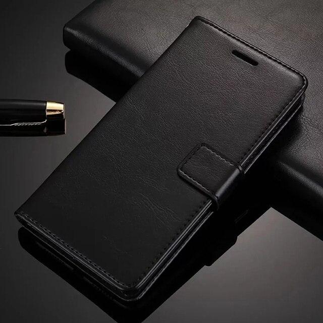 Cartera de cuero Flip caso para Xiaomi mi 8 SE Lite 6 A1 A2 Lite 5X 6X rojo mi 3 S 4A 5A 5 Plus 6A Nota 7 3 4 4X 5A 5 6 Pro cubierta suave