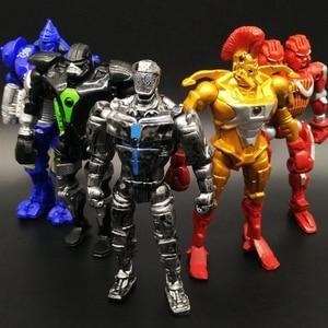 13cm 8pcs/set Real Steel Zeus