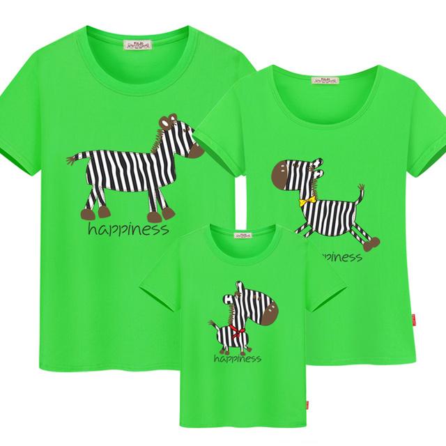 Familie matchende tøj print