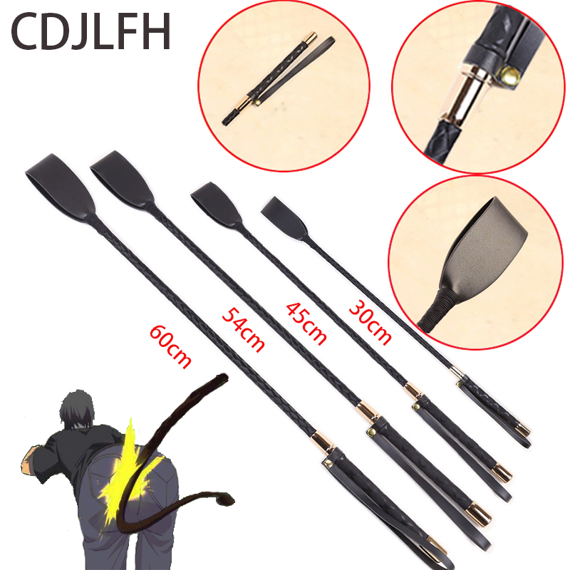 Sex Bondage PU Leather Whip Slap Spanking Sword Handle Lash Fetish Flogger Queen Adult Sex Shop Toys For Women/Couples Games