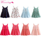 Dress For Girls Baby Girl Clothes 8 Color Summer Cartoon Baby Girl Dress Cotton Cute Beach Baby Clothes Girl Dress