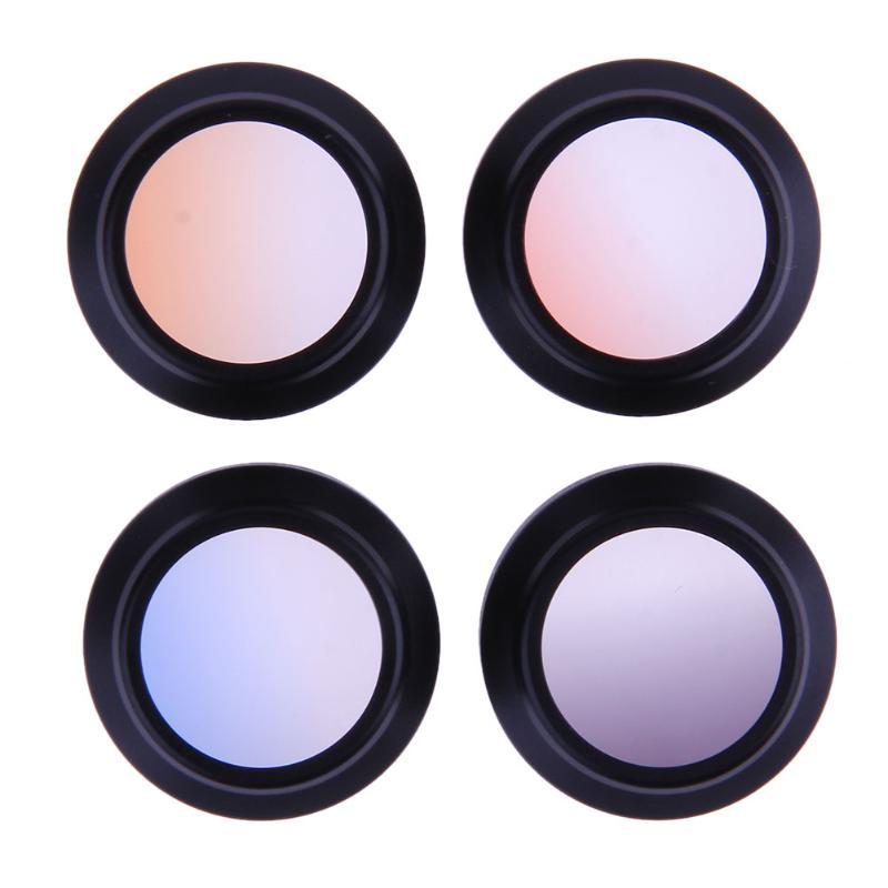 font b Camera b font Lens Filter for DJI Mavic Pro 4pcs Graduate Color Anodized