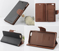 New Luxury Original Mercury Goospery Fancy Diary Case flip leather holster Card Wallet Stand for Appe iphone 6  iphone 6S  4.7''