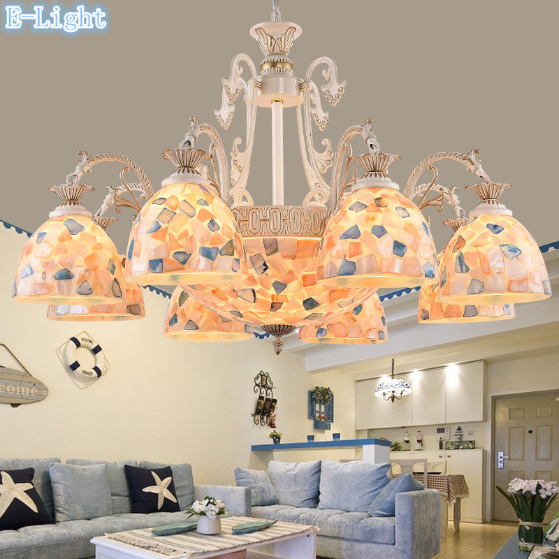 Mediterranean Sea Style Pendant Lamps Northern Europe