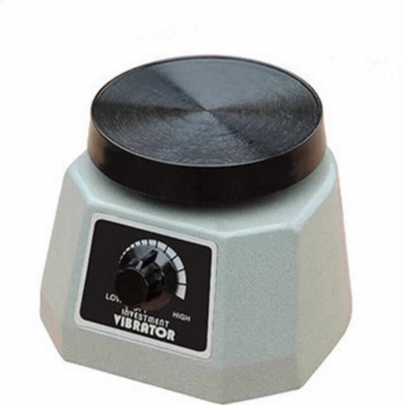 1PC Dental Lab Technician Materials Plaster Vibrator Round Plate For Gypsum Oscillator цена