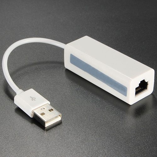 USB2.0 Male To RJ45 Ethernet Lan Network Adapter Dongle 10/100 Mbps For Notebook
