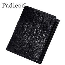 Luxury real crocodile leather short wallets business men's wallets fashion wallet men luxury brand leather  wallet 48ZP01