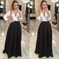 Fashion Women Skirts Custom Made Zipper Waistline A Line Floor Length Long Maxi Skirt Pleated Black Skirts Women Autumn Style