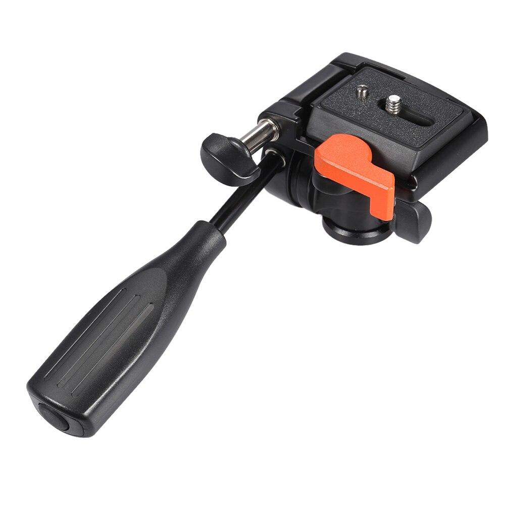 KINGJOY KH-6710 Профессиональная Стабильность 3-Way Пан Ручка Головкой Ballhead с Quick Release Plate для Canon Nikon Камеры