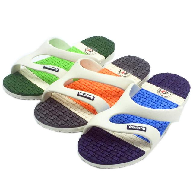 Mænds sandaler flad massage