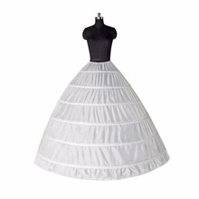 ANTI Fast Shipping Wedding Accessories Apply Quinceanera Petticoats Very fluffy Crinoline 6 Hoops Organza Underskirt In Stock