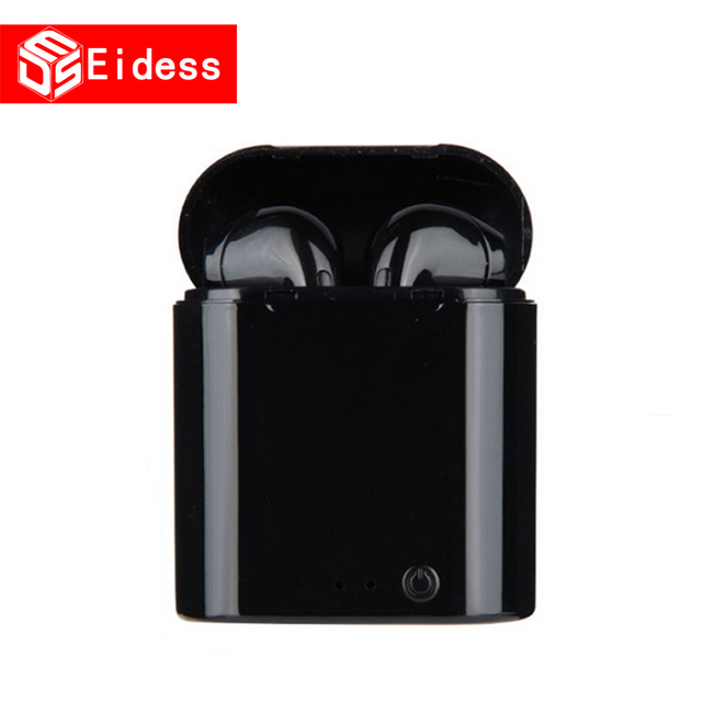 new I7s TWS 5.0 Wireless Bluetooth Earphone Stereo Earbud Headset With Charging Box For xiaomi All tablet Smart phone earphone 2