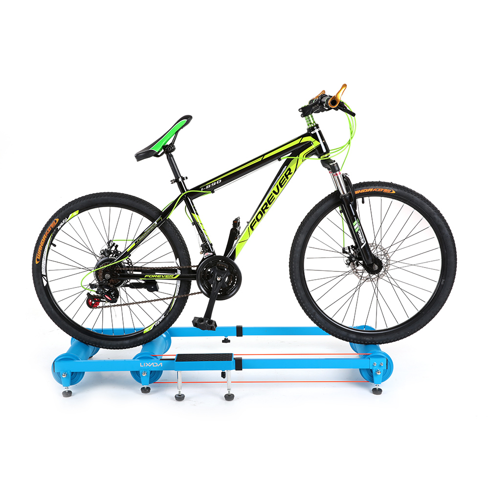 Lixada Bike Indoor Training Station MTB Road Bicycle Exercise Station Fitness Cycling Roller Trainer Mountain Training Station free indoor exercise bicycle trainer 6 levels home bike trainer mtb road bike cycling training roller bicycle rack holder stand
