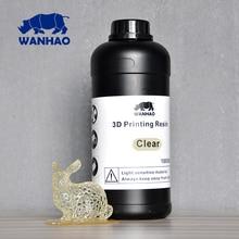 UV 405nm фотополимер для DPL/SLA/LCD принтера | Wanhao Duplicator 7 | Фотополимерная смола для D7 принтера Ванхао -1000 мл | Цвет полупрозрачный | Безопасная доставка в Россию — 100% гарантия доставки