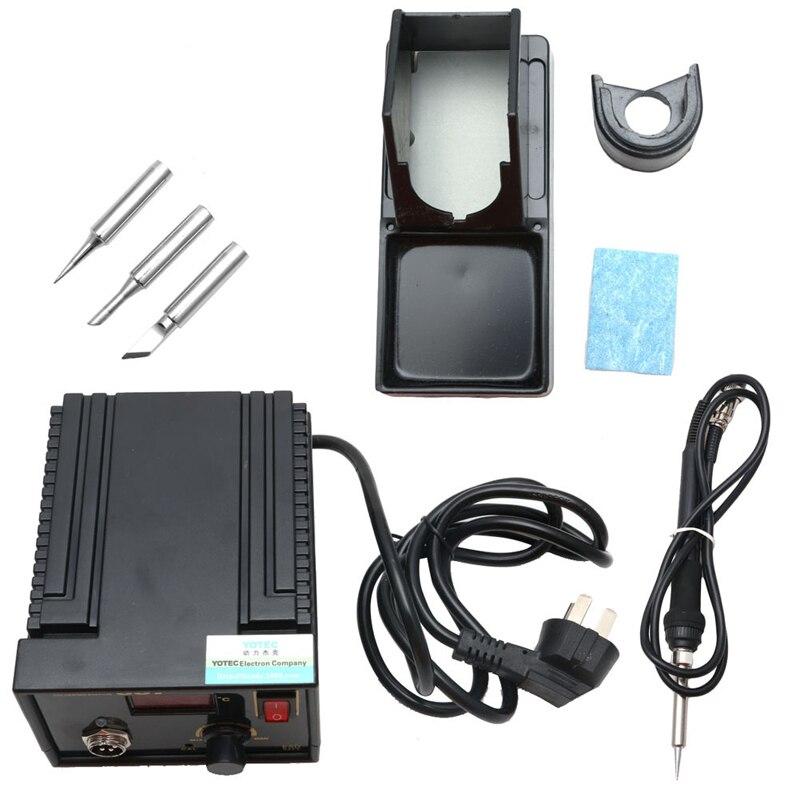 110V 220V 967 LCD Display SMD Desoldering Electric Rework Soldering Station Iron
