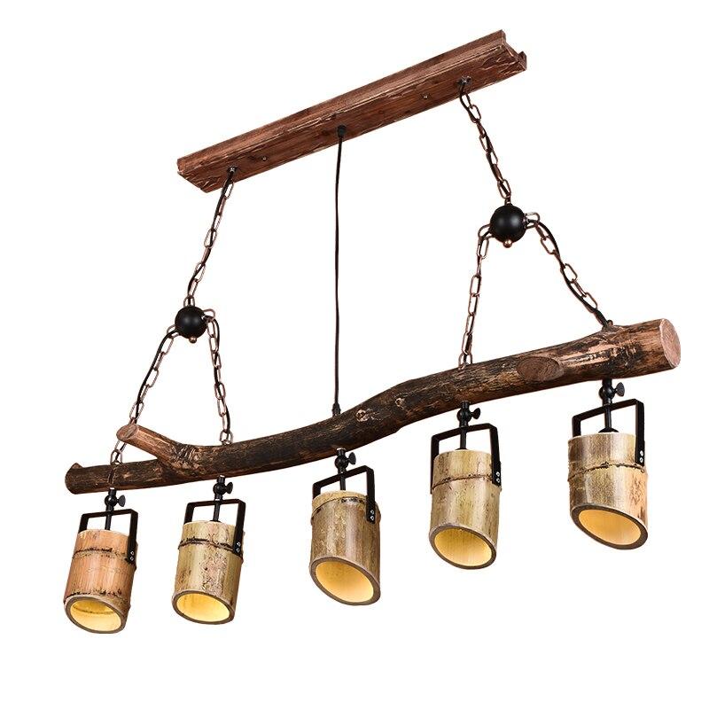 Industriële wind Hanglampen zolder retro verlichting creatieve ...