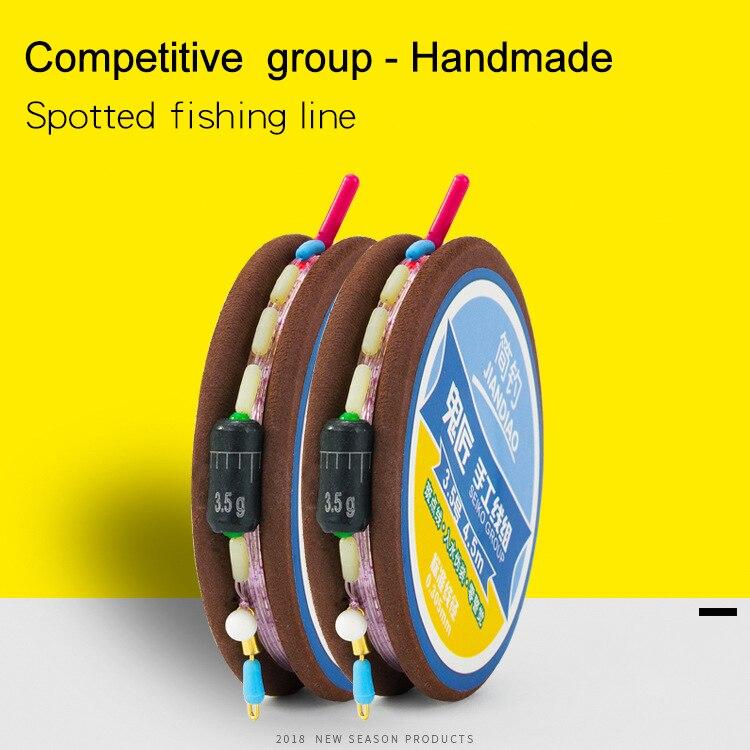 Super Strong 100/% Fluorocarbon Monofilament Nylon Fishing Line 0.4-8LB 100m US