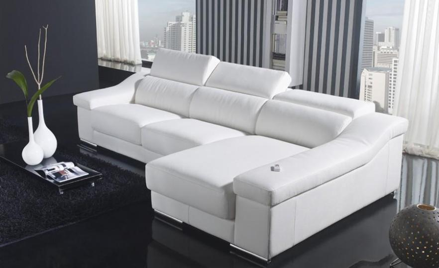 Great House Design Modern Sofa, Made With Top Grain Leather L Shaped Corner  Sectional Sofa With Lazy Boy Couches L9099 2 In Living Room Sofas From  Furniture On ...