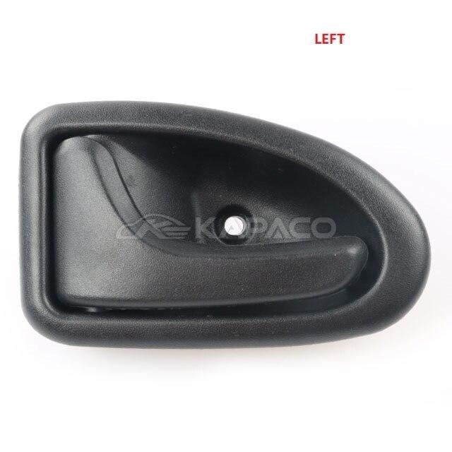 Tirador de puerta interior izquierda derecha interior del coche de Clio Megane Sceni Tirador de puerta interior interior del coche Left