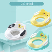 Bayi Toilet Potty Kursi Anak Kursi Potty Safety Seat dengan Sandaran Tangan Kartun Gadis Anak Laki-laki Toilet Training Outdoor Perjalanan Potty Bayi # G7(China)